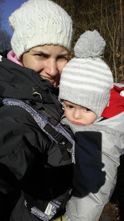 Nošení v zimě, díl 1.: Jak nosit v zimě bezpečně?