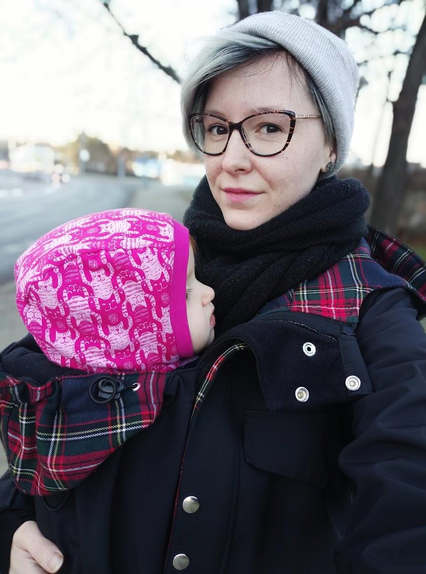 Nošení v zimě, díl 3.: Potřebuju na nošení v zimě speciální oblečení?