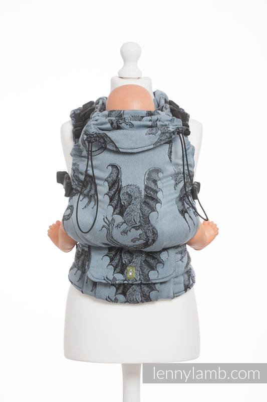 LennyLamb TODDLER Dragon Steel Blue + dárek