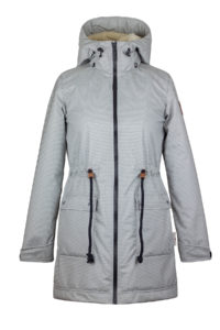 Angel Wings Softshell parka s beránkem - S