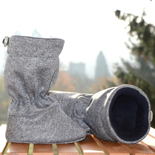 c76330095 Softshell-merino capáčky džínové | Teplé merino capáčky na zimu