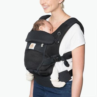ERGOBABY ADAPT Cool Air Mesh - Oxford Blue + zavinovačka