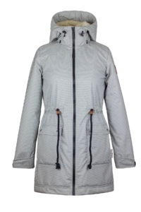Angel Wings Softshell parka s beránkem - M
