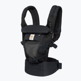 ERGOBABY ADAPT Cool Air Mesh - Onyx Black + zavinovačka