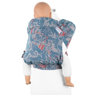 Fidella FlyClick Plus (Toddler) - Sea Anchor maritime blue