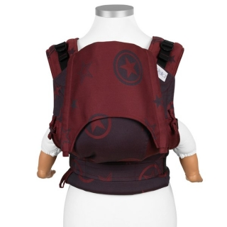 Fidella FlyClick (Baby) - OUTER SPACE - RUBY RED  + dárek