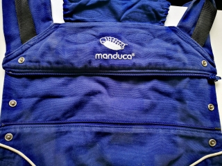 Manduca Pure Cotton Royal Blue - bazar