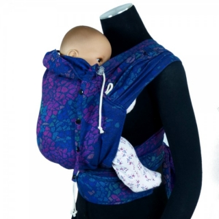 Didymos DidyKlick Mosaik Sparks in the Dark