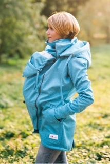 Lenka softshell bunda 2v1 Blue - S